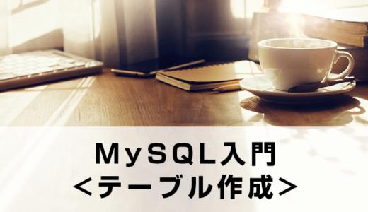 【MySQL】初めてのスキーマ作成+テーブル〜レコード作成。データベースの完成までを流れで説明