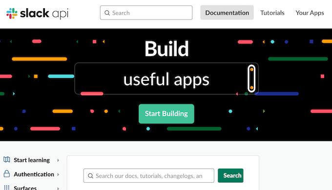 slack api your app