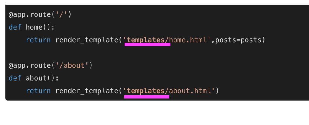 jinja2.exceptions.TemplateNotFound 解消法